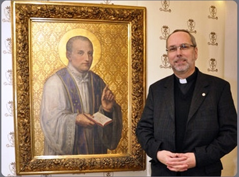 Il Provinciale dei Redentoristi Viennesi, Padre Lorenz Voith, ha curato con entusiasmo le varie iniziative legate al Giubileo dei 100 anni di San Clemente a Patrono della città di Vienna.