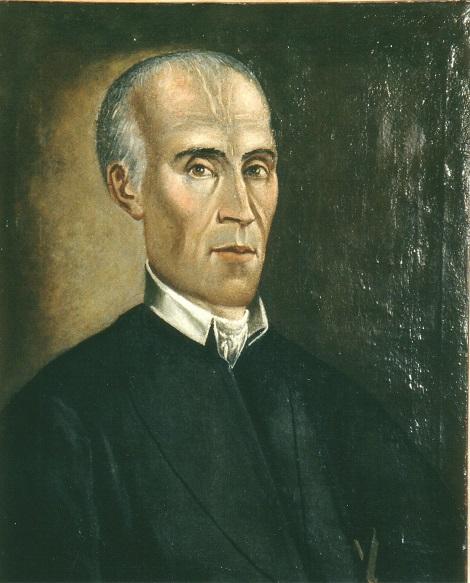 Ritratto del P. Michele Vittoria che si trova a Materdomini. Questo dotto redentorista, nativo di Avella, fu molto stimato per le sue qualità e morì improvvisamente nel 1863.