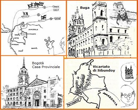 In questo numero 38 di Communicationes la storia dei Redentoristi in Colombia illustrata dai disegni del P. Noël Londoño.