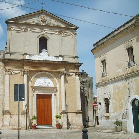 Francavilla Fontana, Chiesa dei Padri Liguorini. Qui morì nel 1860 Fratello Sebastiano.