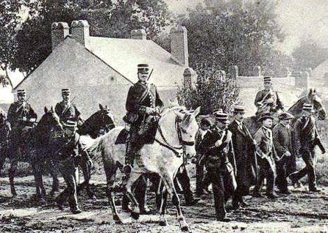 Espulsione dei Redentoristi da Les Sable d'Olonne nel 1903 - Arresto dei loro amici che li difendevano.