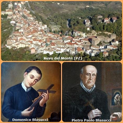 Ruvo del Monte (PZ), patria di redentoristi. Oltre ai fratelli Domenico e Pietro Paolo Blasucci, qui ebbe i natali anche il P. Francesco Saverio Cudone.