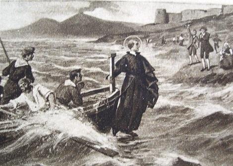 Il P. Francesco Alfano, redentorista nativo di Napoli, testimoniò ai Processi Apostolici su Gerardo Maiella, il miracolo della barca dei pescatori prodigiosamente tirata a riva dal santo Fratello.