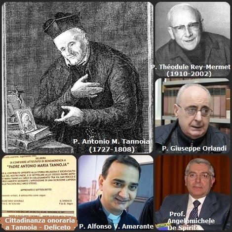 Il primo fascicolo di questa Annata 2008 è dedicato a P. Antonio M. Tannoia nel bicentenario della sua morte con preziosi contributi di P. Théodule Rey-Mermet (1910-2002), P. Giuseppe Orlandi, prof. Angelomichele De Spirito e P. Alfonso V. Amarante. – Al P. Tannoia il Comune di Deliceto ha riconosciuto la Cittadinanza onoraria.