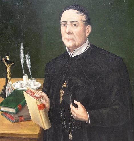Uno dei ritratti del P. Celestino Maria Berruti, Rettore Maggiore del ramo napoletano della Congregazione e importante testone del patrimonio missionario redentorista e alfonsiano.