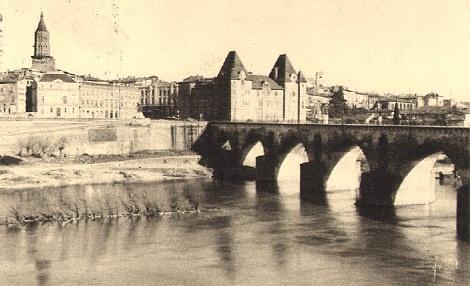Montauban (Francia) - Il ponte che accede alla città e alla Casa dei Redentoristi, aperta nel 1893 e chiusa nel 1994. Qui nel 1902 morì il P. Clémentin Boiron.