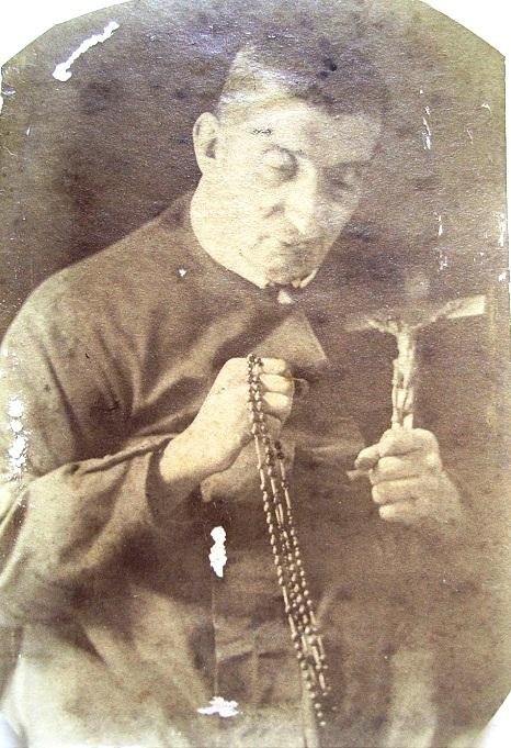 Antica fotografia del Fratello Andrea Proto, originario di Atrani (SA), presente nelle Biografie di Schiavone.