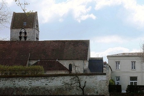 Avon (Francia) Convento dei Carmelitani, che un tempo fu Casa dei Redentoristi dal 1860 al 1881: nel 1867 vi morì il Fratello Jules Pinget. (foto da internet).