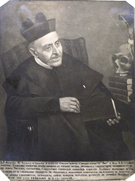 P. Luigi Maria Balducci, redentorista nativo di Corato (BA) fu un religioso colto e santo; ricoprì varie cariche nell'Istituto e fu stimato da alte personalità. Morì a Pagani nel 1883.