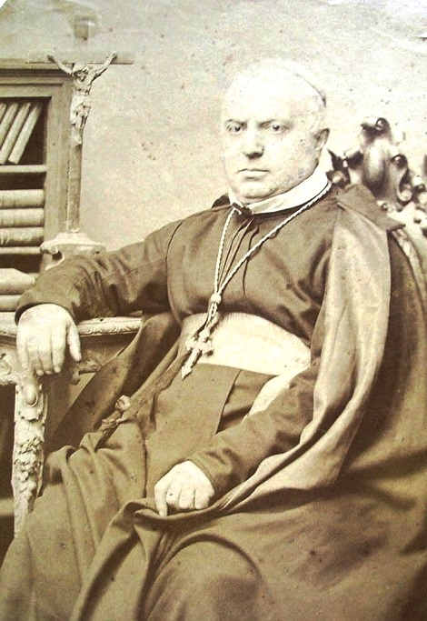 Mons. Alessandro Basile, redentorista nativo di Ischitella (FG), fu un uomo e un religioso di ingegno: coltivò con successo la poesia e la pittura, lasciando tracce dei suoi lavori. Il suo impegno pastorale in diocesi, come vescovo, fu grande mentre breve fu il periodo di governo episcopale: solo dodici anni, prima di morire nel 1883.