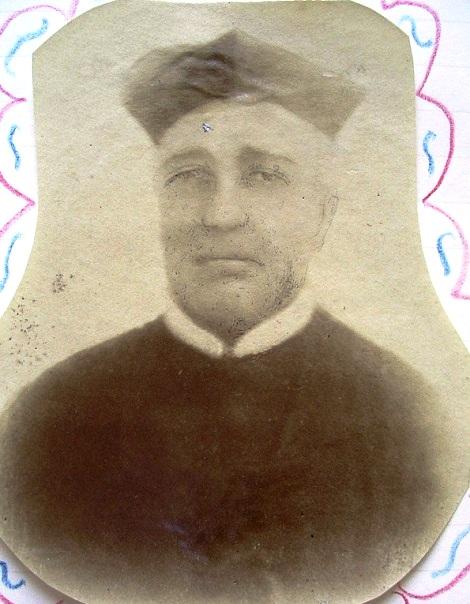 Ritratto di P. Antonio Giurazzi, originario di Aquilonia, l'antica Carbonara (AV): fu missionario laborioso; morì in Angri nel 1876.