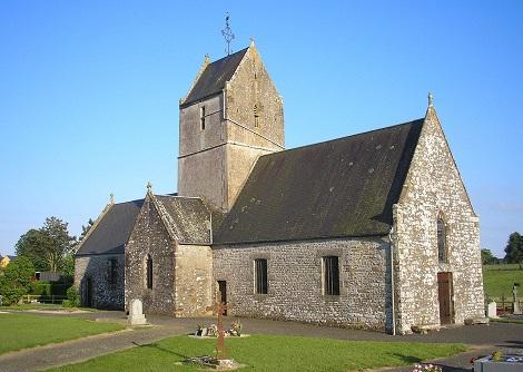 La chiesa dell'Annunciazione a Le Mesnil-Drey, patria del redentorista P. Louis-Marie Genvresse (foto da internet).