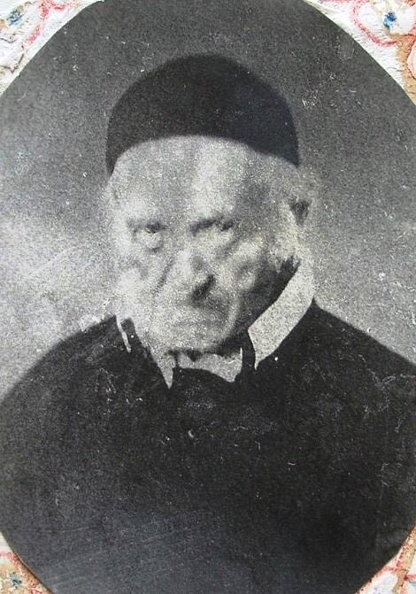 Rarissima foto del P. Isaia Marano nei manoscritti del P. Schiavone: originario di Montella (AV) fu rispettato per la sua pietà e per le convinzioni, anche se sembravano eccessive.