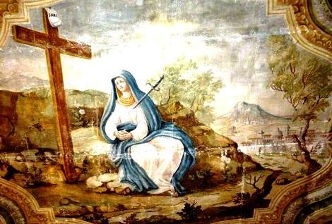 Tela dell'Addolorata nella omonina cappella in Pagani, dove nel 1874  consumò la sua vita il Fratello Ignazio Rocco.