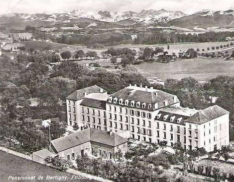 Pensionnat de Bertigny, Fribourg (Svizzera) - La presenza redentorista fu costante: scuola per aspiranti redentoristi. Qui morì nel 1924 il P. Georges Willi.