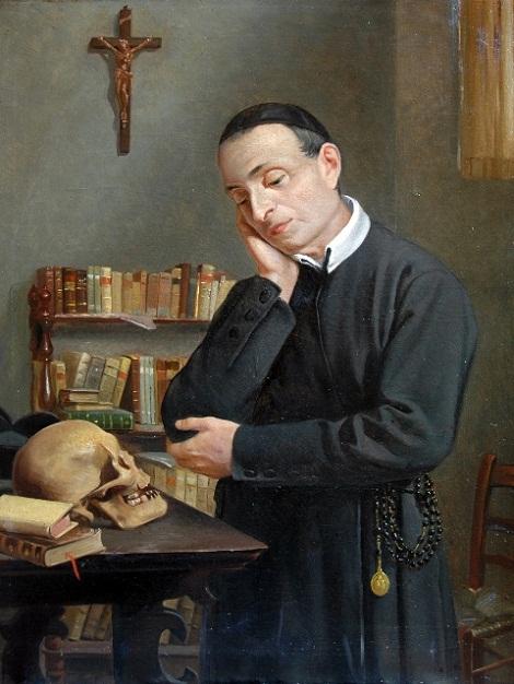 Il Venerabile P. Emmanuele Ribera, redentorista originario di Molfetta (BA) nella tela del Windahausen: fu un ardente missionario e un apostolo della buona stampa.