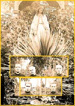 Santiago del Cile. I 5 Fratelli della Comunità redentorista nel 1901: probabilmente uno di essi è Fratello Gérard che vi morirà nel 1916.