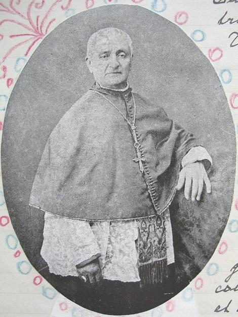 Ritratto di Mons. Carmelo Valenti: redentorista nativo di Marineo (Palermo), fu di grande spiritualità e vescovo zelante di Mazara del Vallo. Subì non poche persecuzioni e calunnie, ma tutte le superò, perdonando ai suoi nemici (foto nelle Cronache di Schiavone).