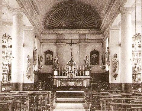 Attert (Belgio). La chiesa redentorista, facente parte del Centro di formazione degli studenti. Adrien Augez dovette rispondere alla chiamata alle armi e vi lasciò la vita nel 1914, allo scoppio della prima guerra mondiale.