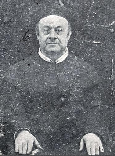 P. Stanislao D'Amora, redentorista nativo di Castellammare di Stabia, in una immagine estratta dal gruppo dei Missionari di Valle di Pompei nel 1892.