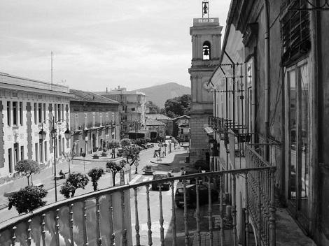 Veduta di Forino (AV), patria del P. Vincenzo Faieldàttila, missionario redentorista.