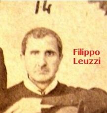 Fratello Filippo Leuzzi, redentorista originario di Delianova (RC): l'immagine è tratta dalla rara foto di gruppo dei Redentoristi rifugiati a Tropea nel 1863.