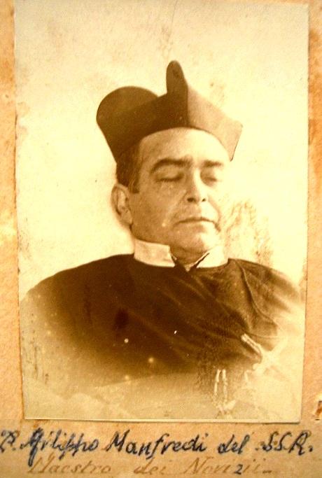 P. Filippo Manfredi, redentorista nativo di Montemilone (PZ), fu apprezzato educatore di Novizi e Studenti Redentoristi. Morì in Avellino nel 1894.