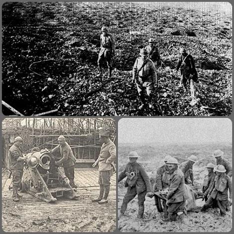 La Meuse (Francia). Si combattè una delle decisive battaglie della prima Guerra Mondiale: nel 1917 vi rimase uccise l'Aspirante redentorista Pierre Le Fur.