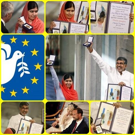 Anche il deserto fiorirà... Il premio Nobel per la pace per il 2014 è stato assegnato a Malala Yousafzai, ragazza pachistana sopravvissuta due anni fa ai proiettili talebani che cercarono di fermare la sua battaglia per il diritto allo studio delle ragazze, nel distretto dello Swat; e all' ttivista indiano Kailash Satyarthi, impegnato contro lo sfruttamento minorile. - Una rinnovata speranza per l'umanità?
