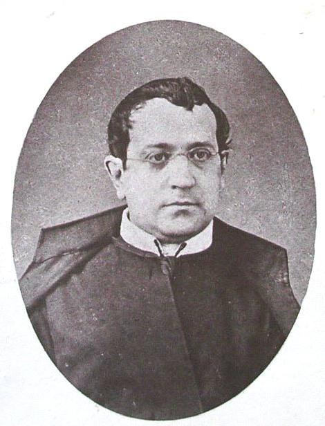 Ritratto fotografico del redentorista P. Francesco Saverio Alvino, originario di Atripalda (AV). Aveva un fratello sacerdote redentorista: P. Giuseppe.