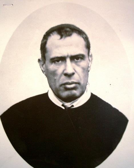 Ritratto fotografico del P. Ercole Barbarulo, redentorista originario di Pellezzano (SA): confratello amato, superiore venerato e guida spirituale ricercata.