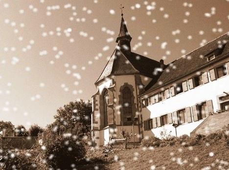 Il complesso redentorista di Bischenberg (Francia), dove nel 1872 morì il buon fratello Conrad.