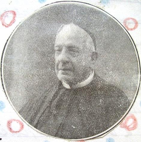 Ritratto fotografico del redentorista P. Luigi Cagiano de Azevedo, nobile di casato e di cuore; ricercato confessore e guida spirituale. È uno dei pionieri Redentoristi italiani in Spagna. Morì a Madrid nel 1929.