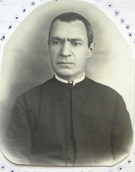 Ritratto del sacerdote Camillo De Risio, nipote del Vescovo redentorista: lo seguì nel suo ritiro a Pagani.