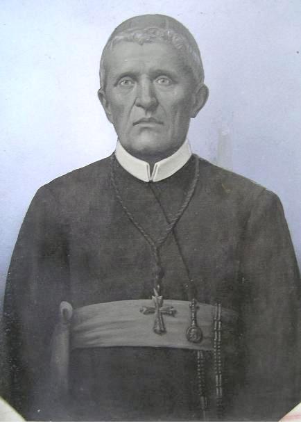 """Ritratto del redentorista Mons. Alessandro De Risio, Arcivescovo di S. Severina. Missionario e Vescovo dal cuore alfonsiano: fu chiamato """"un secondo S. Alfonso"""". Mori a Pagani nel 1901."""