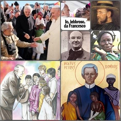 62a Giornata Mondiale per i lebbrosi: malati di lebbra e apostoli della carità per il pieno recupero della dignità umana e dei propri diritti.