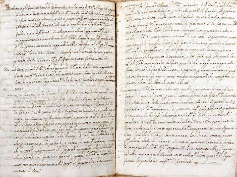 Manoscritto di Archivio – Simile a questo manoscritto doveva essere quello che P. Gaetano Savastano, redentorista di Vico Equense (NA), dedicò alla storia della Provincia Napoletana dell'Istituto.