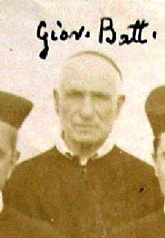 Fratello Giovanni Battista Marino, redentorista calabrese, in una foto del 1899, estratta da foto di gruppo, due anni prima della sua morte.