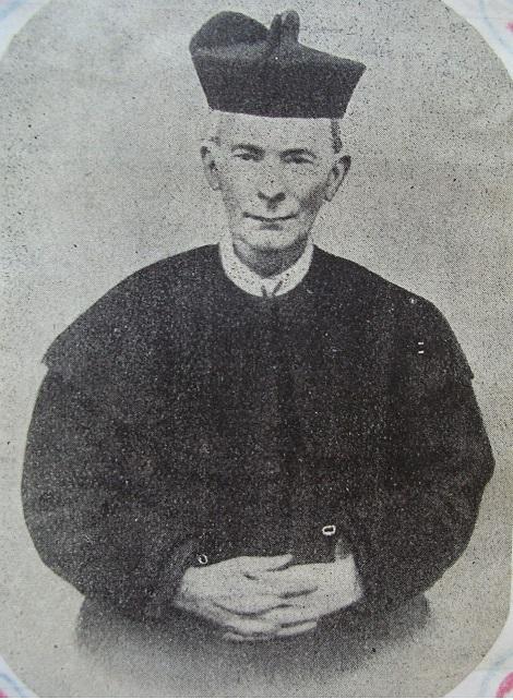 Ritratto fotografico del P. Giovanni Battista Paniccia, bella figura di redentorista impegnato nella formazione dei giovani e nell'apostolato del confessionale. Morì nel 1935.