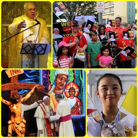 Festa della Fede con Papa Francesco in Ceylon e nelle Filippine. Tutta la Chiesa ne gioisce.