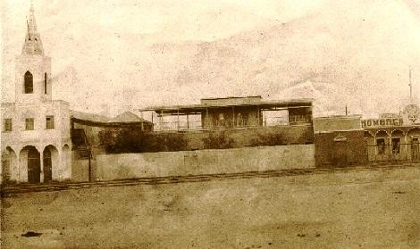 Piura (Perù). La chiesa redentorista della missione. Qui nel 1913 consumò la sua esistenza terrena Fratello Alfred Paul Nuffer.