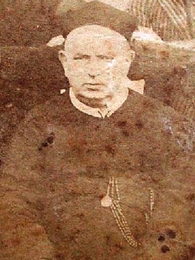 Immagine del redentorista P. Cianciulli Domenico (Domenicantonio), originario di Montella (AV). Gran predicatore e sempre presente negli avvenimenti importanti riguardanti la vita redentorista. Morì a S. Angelo a Cupolo nel 1911.