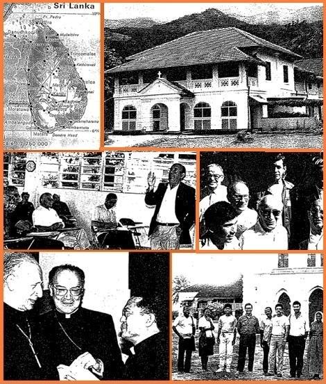"""Il numero 68 di COMMUNICATIONES presenta con testo e foto la storia della C.Ss.R. in Sri Lanka; documenta il Primo Incontro dei Missionari Latino-Americani a Porto Rico e fa il punto su Turismo e Terzo Mondo attraverso il Segretariato """"Giustizia e Pace""""."""