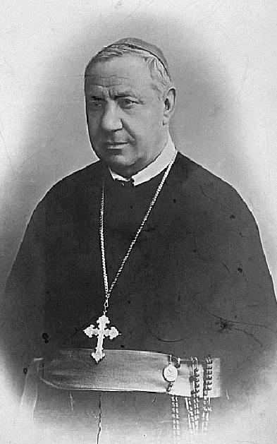 Ritratto fotografico di Mons. Giuseppe Consenti, redentorista originario di Galatina (LE): missionario e vescovo secondo il cuore di S. Alfonso. Fu molto stimato e amato. Morì nel 1907.