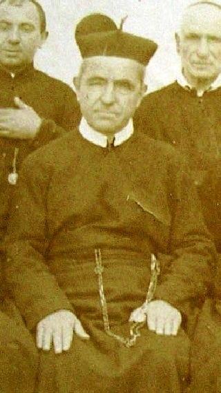 Immagine del P. Raffaele Iacovino, redentorista originario di Montagano (CB) estratta da una foto di gruppo del 1899. Fu il primo superiore della Casa di S. Andrea in Calabria. Da tutti era riconosciuto buono ed amabile. È morto a Pagani nel 1909.