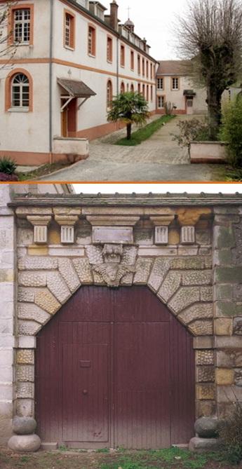 Avon (Francia) Charite Hopital. L'antica Casa redentorista era stata aperta nel 1860 e chiusa nel 1861; poi diventata Ospizio di carità. Ne 1874 vi morì il P. Jean-Baptiste Petit.