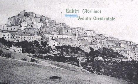 Calitri (AV), patria dei Padri Margotta e Melaccio compagni di S. Alfonso e del Fratello Canio Buglione che morì a Pagani nel 1930.