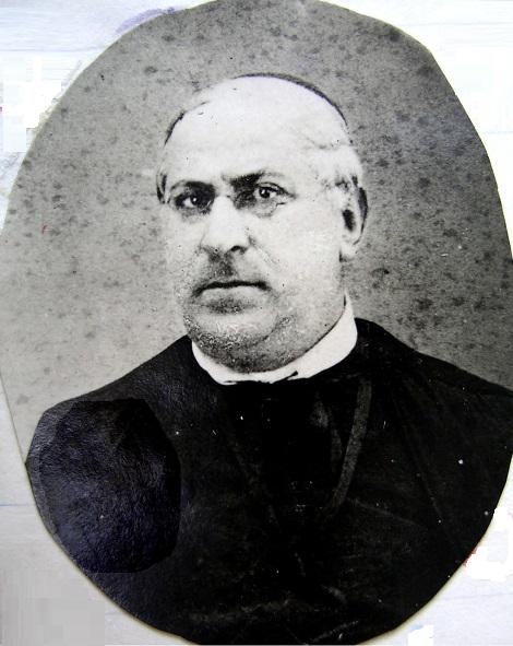 Ritratto fotografico di P. Donato Mancini, redentorista originario di Montella (AV) dai tratti gentili e rinomato missionario. Morì nel 1913.