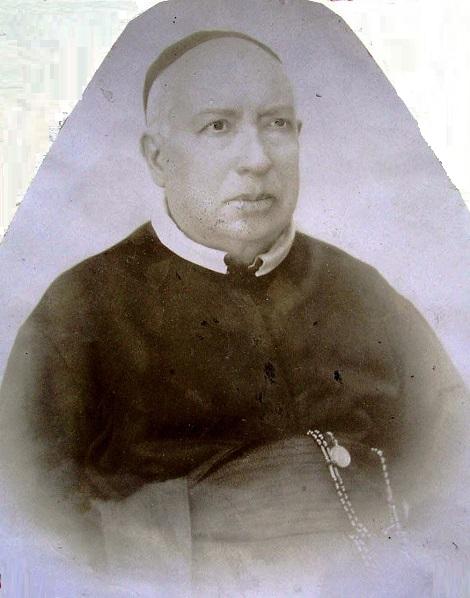 Ritratto fotografico di P. Francesco Mautone, originario di Marigliano (NA), aveva altri due fratelli redentorista. Benvoluto da tutti, morì nel 1915.