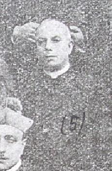 P. Benedetto Sepe, originario di S. Angelo dei Lombarvi (AV), con la talare diocesana perché dopo la soppressione si era ritirato a casa sua, da una foto di gruppo del 1905 fatta a Materdomini, in occasione della visita del Cardinale Casale Del Drago.